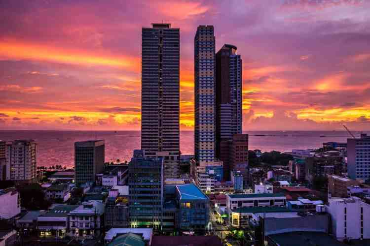 Bangkok or Manila