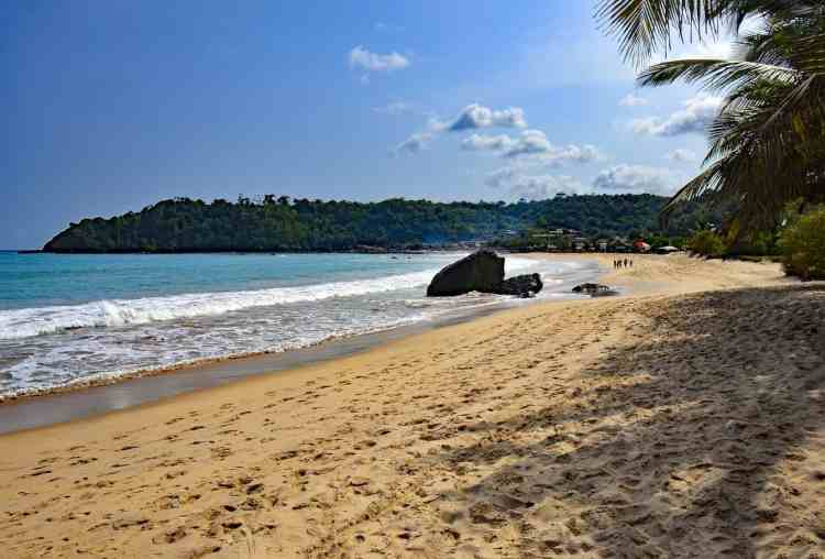 beaches in Ghana