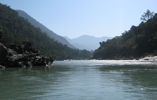 River Ganges at Rishikesh