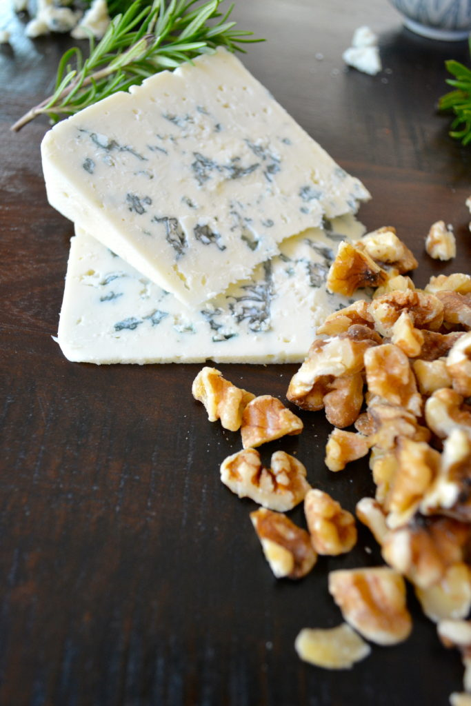 Rosemary Blue Cheese Scones - Blue Cheese, Rosemary, and Walnuts