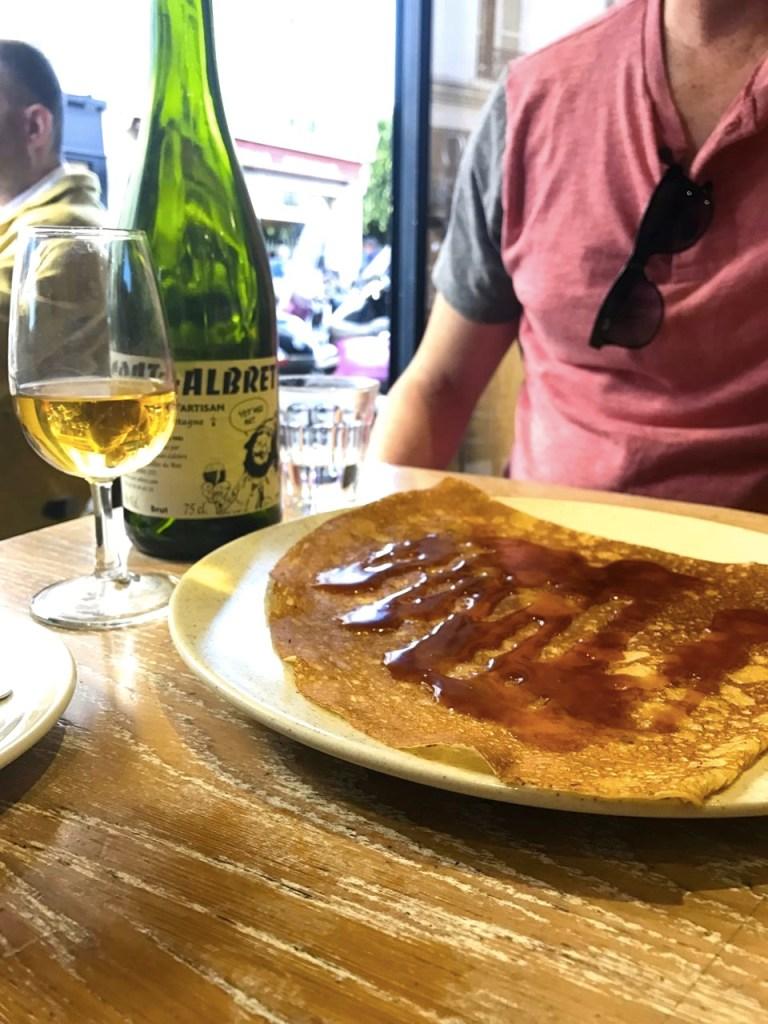 Basic Crepe Recipe - Crepes in Paris France