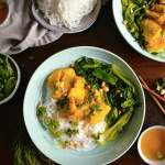 Cha Ca La Vong - Vietnamese Style Fish with Turmeric and Dill