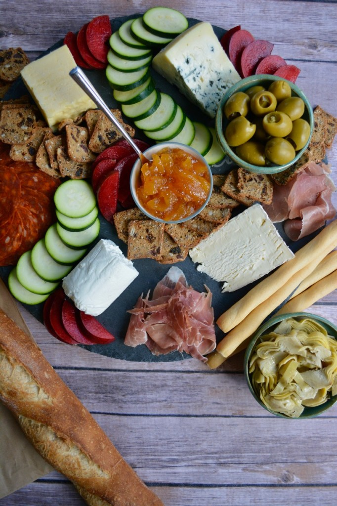 How to Make and Epic Cheese Board: