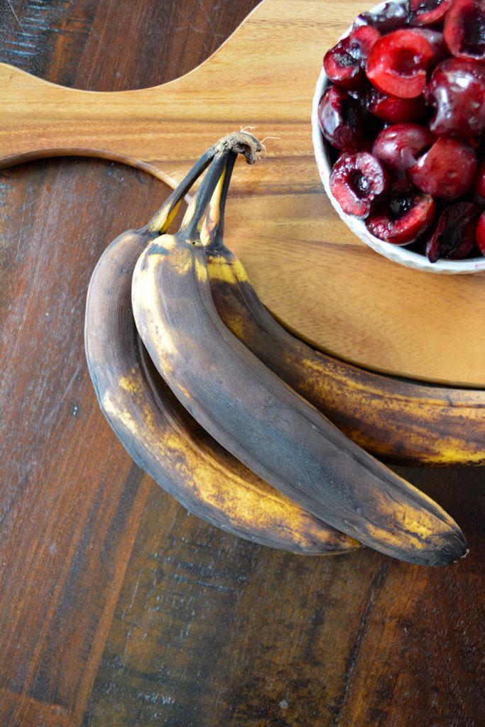 Dark Chocolate Cherry Banana Bread
