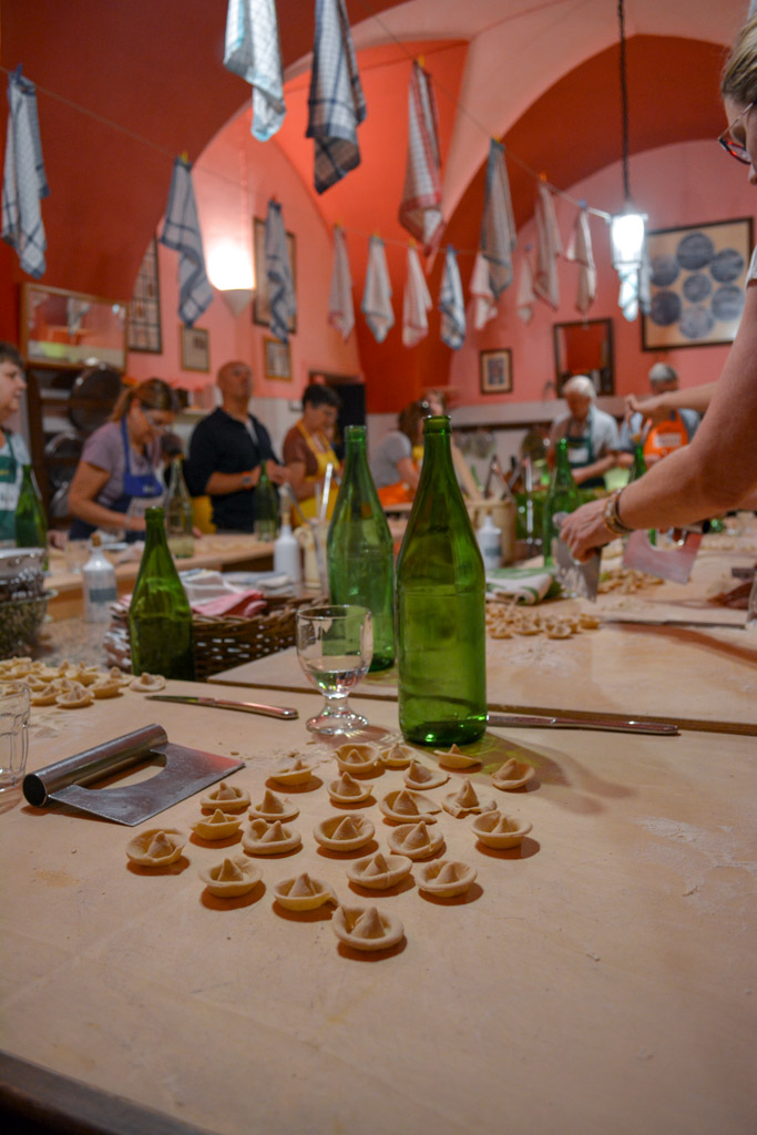 Homemade Pasta at the Awaiting Table Cooking School in Puglia, Italy