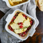 Baked Feta with Honey & Herbs