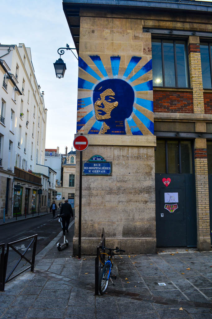 Comprehensive Guide to Paris:  Street art in the Marais