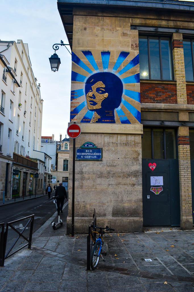 Comprehensive Guide to Paris:  Street art in the Marais