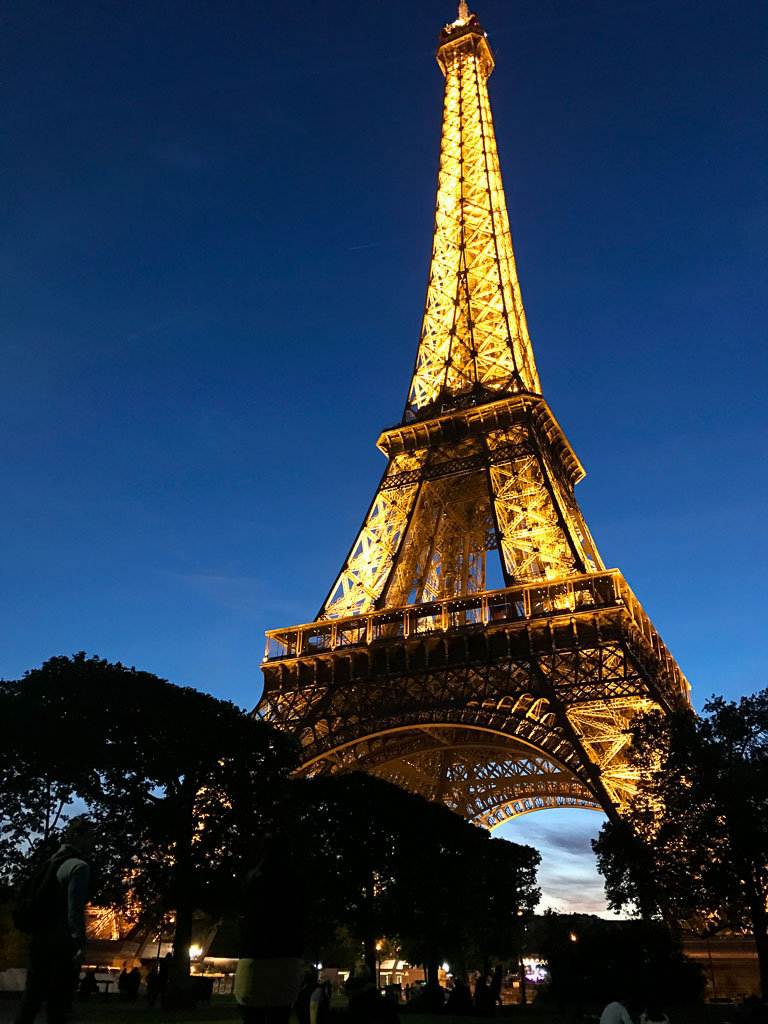 Comprehensive Guide to Paris:  Eiffel Tour by Night