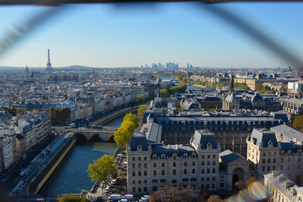 Comprehensive Guide to Paris:  View of Paris from the top of Notre Dame