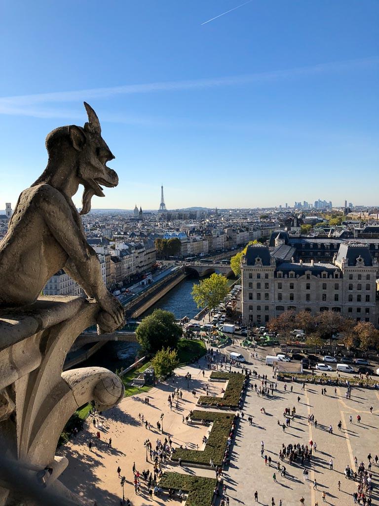 Comprehensive Guide to Paris:  Gargoyles of Notre Dame