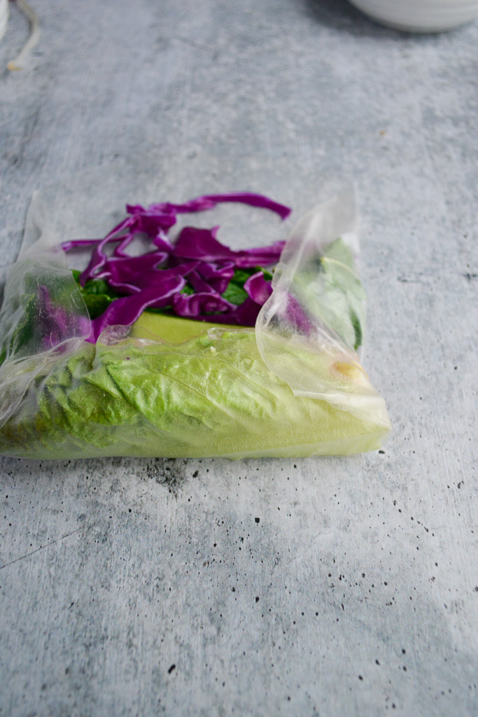 How to roll rice paper to make Vietnamese Spring Rolls