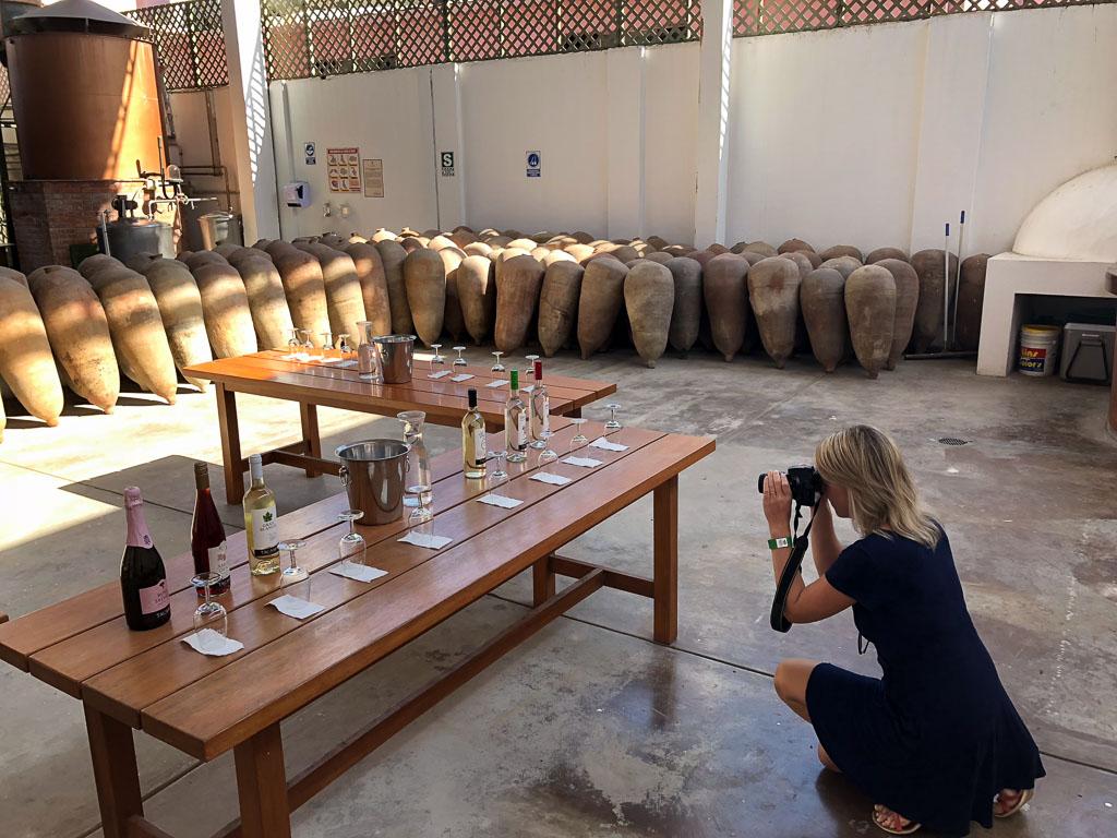 Tacama Winery in Ica, Peru
