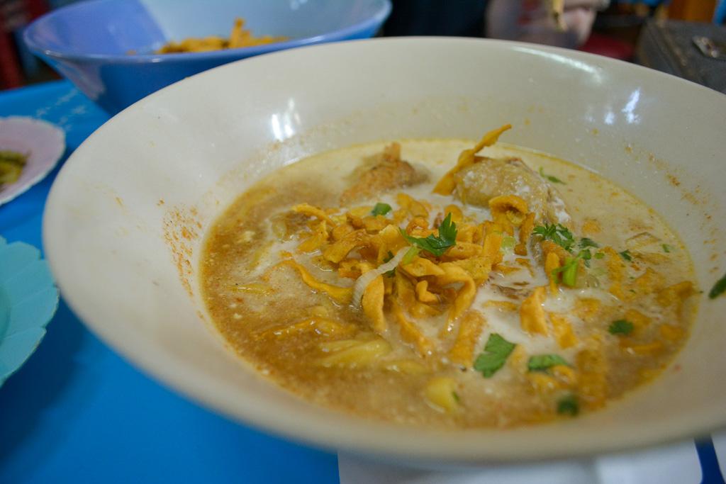 Khao Soi in Chiang Mai Thailand