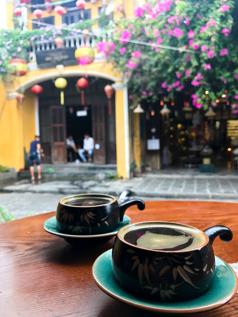 Coffee in Hoi An, Vietnam
