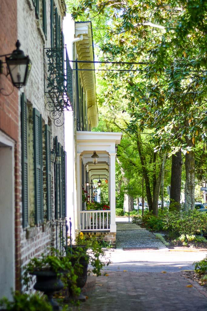 Porches in Savannah, Georgia