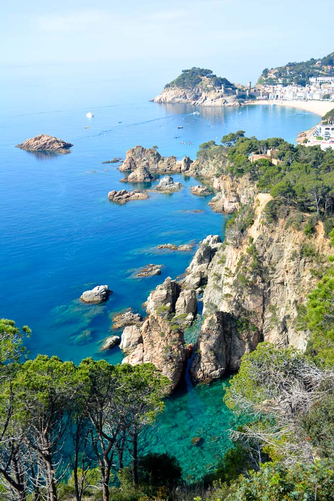 Tossa de Mar Overlook in the Costa Brava