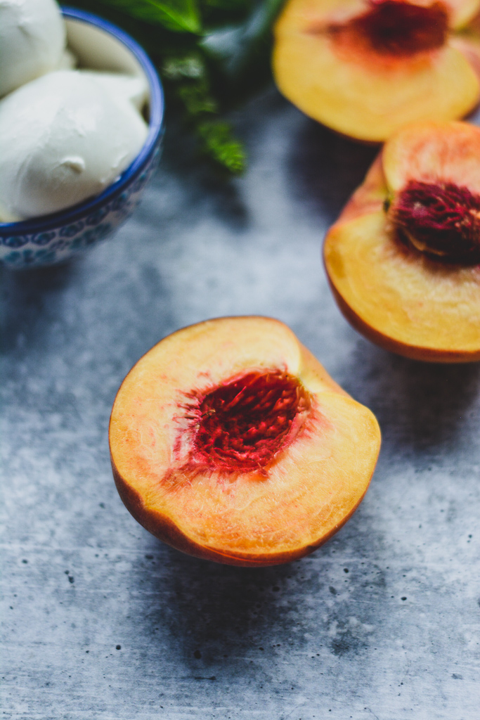 Ripe Freestone Peach