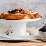 Italian Olive Oil Cake with Honeyed Mascarpone and Fresh Figs