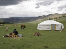A yurt in Mongolia (found on Google)