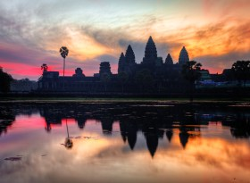 Angkor Wat, Cambodia (found on Google)