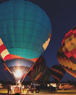 Last weekend - Balloon Festival