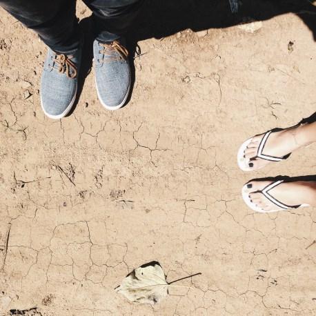 Artsy feet