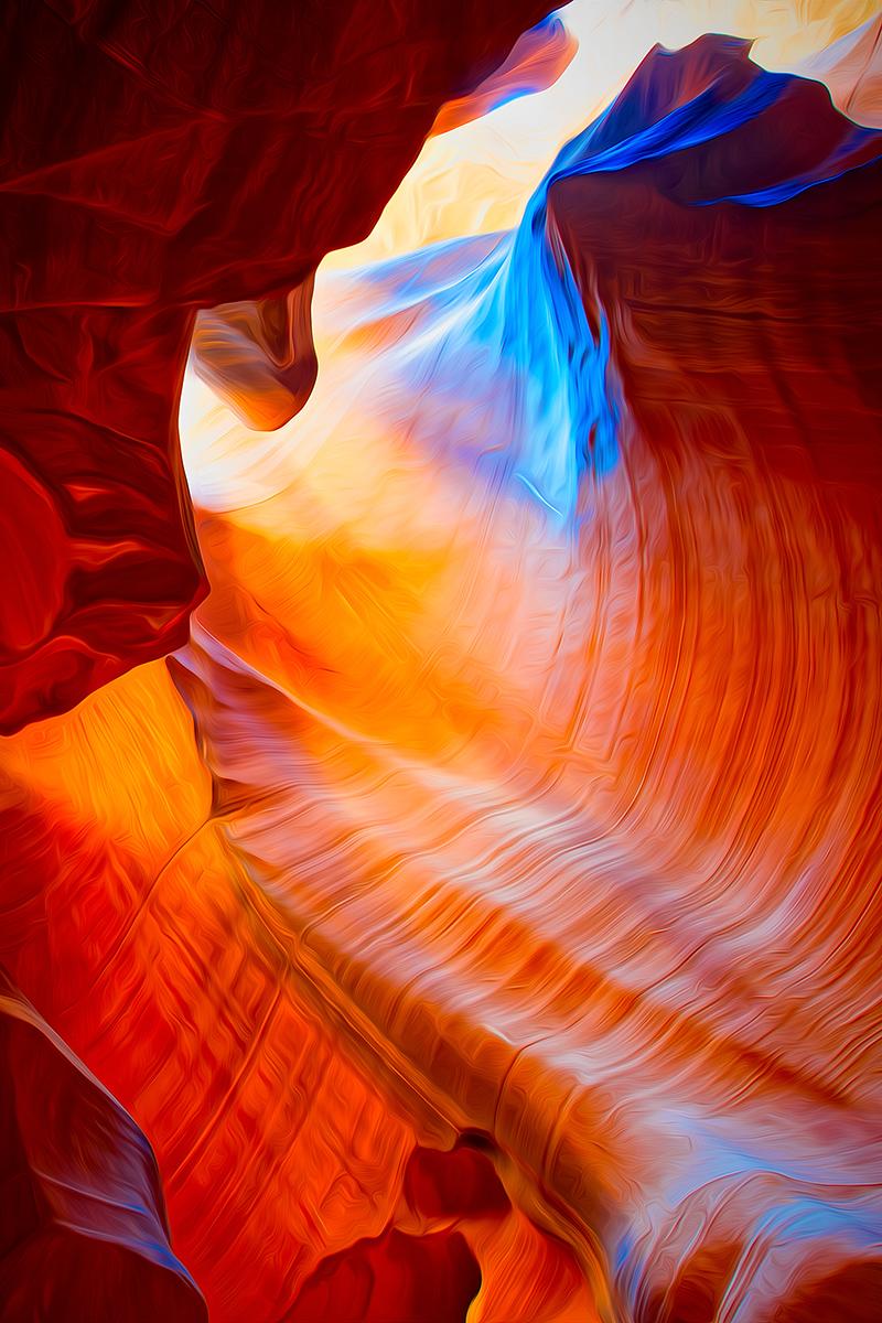 traveling to antelope canyon
