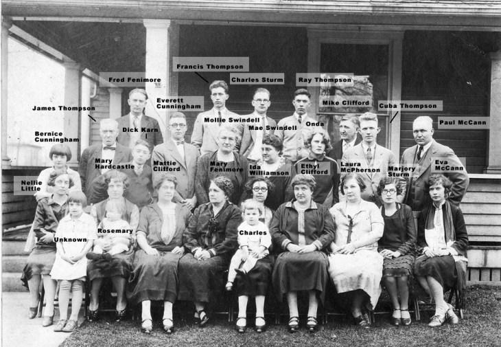 Thompson Family 1927