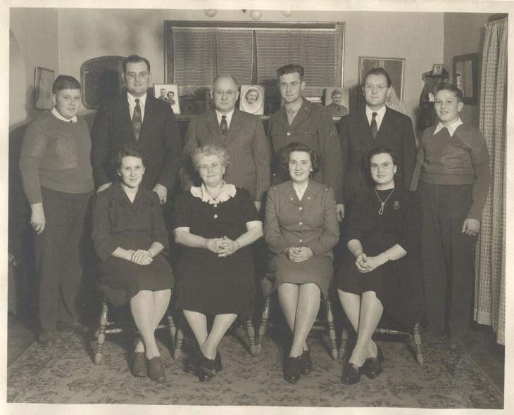 WWII Seelye Family