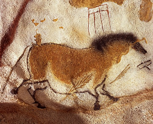 horses cave painting