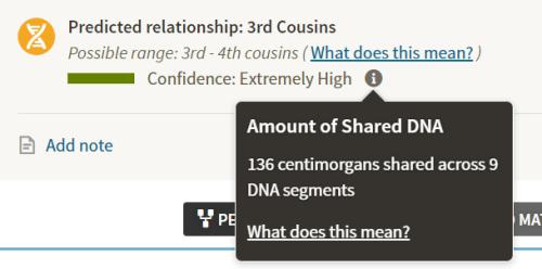 chris 3rd cousin 136cM