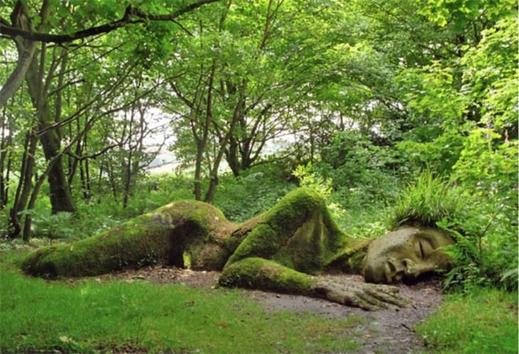 Mud Maid Lost Garden of Heligan