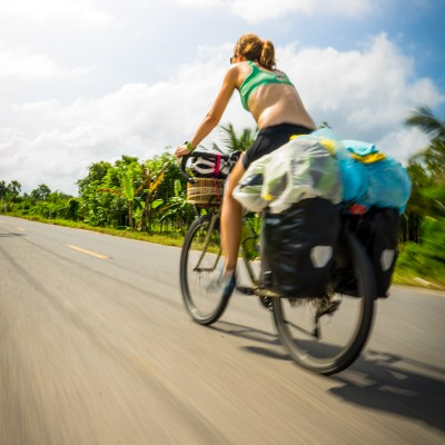 cycle touring thailand