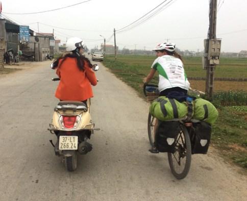Vietnam moped
