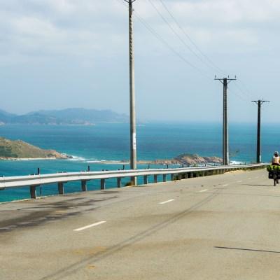 Coastal mountain pass Vietnam