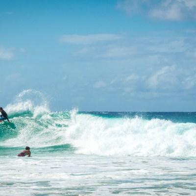 Surfing Snapper Rocks Gold Coast