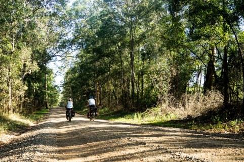 cycling dirt roads Australia