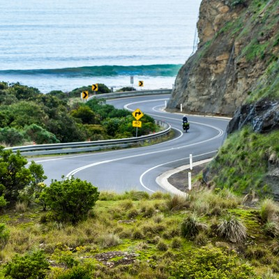 Cycle touring great ocean road