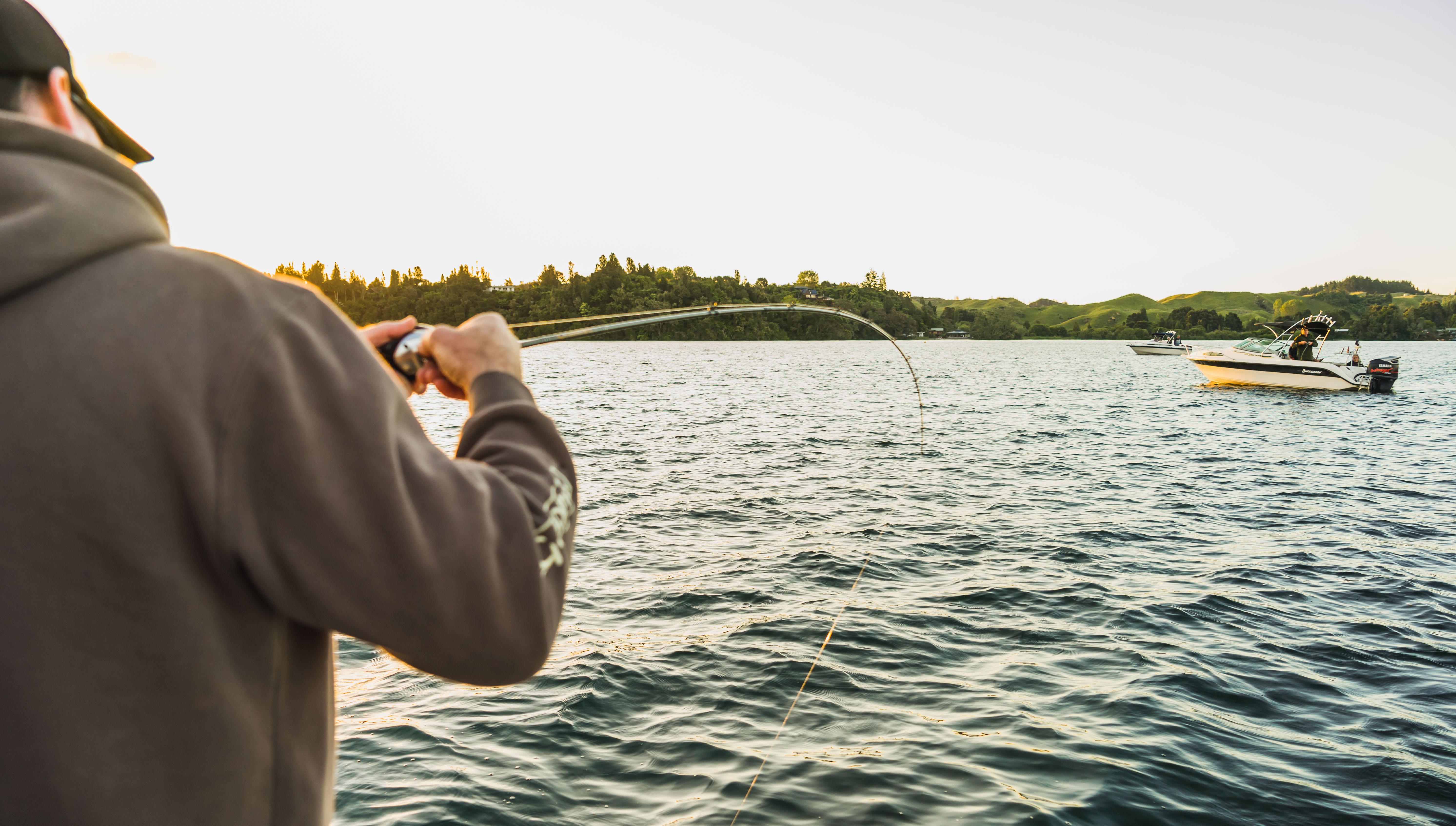 Trout fishing Rotorua