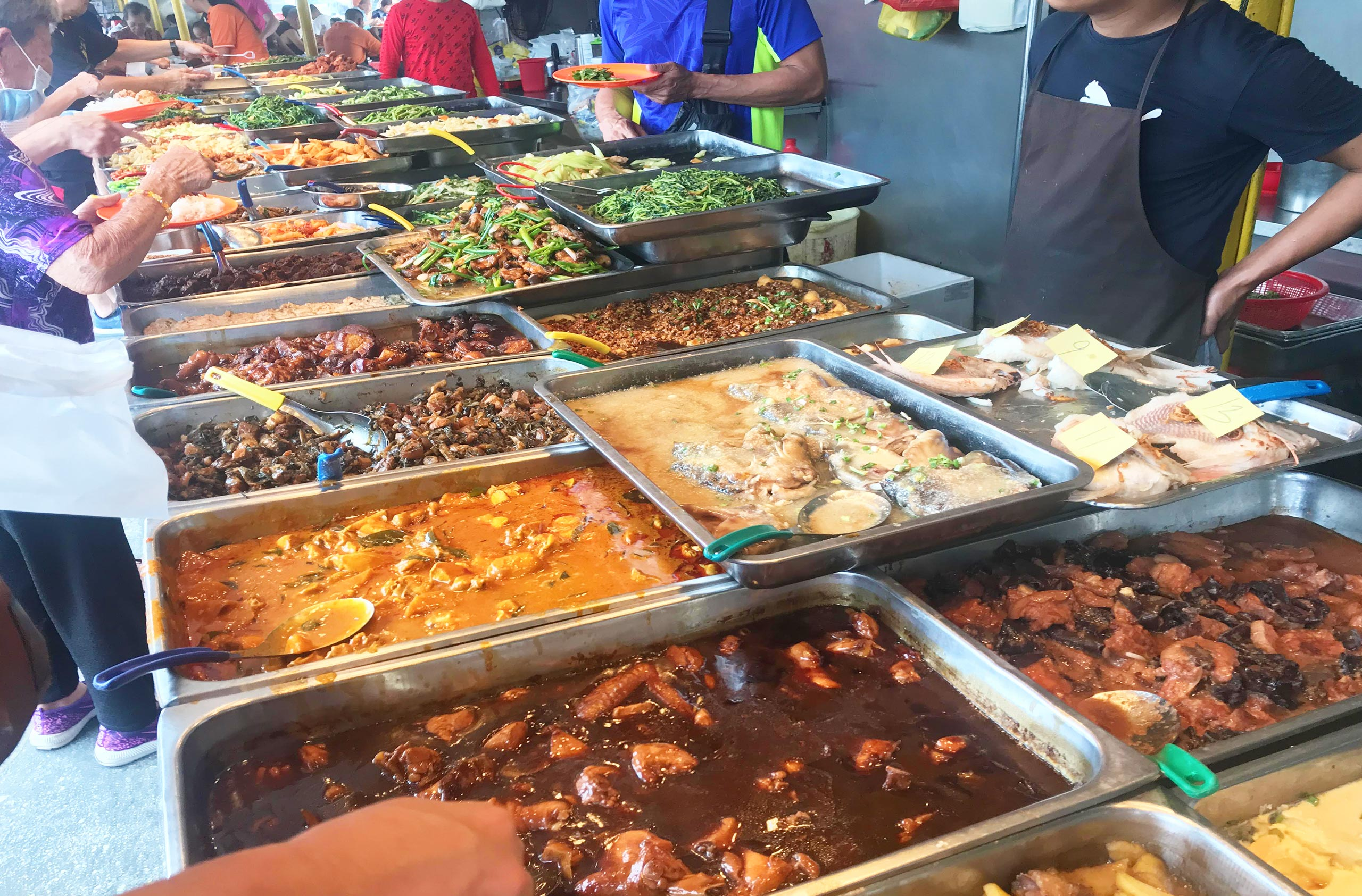 WWanderingWally_Sun-Kee-Mix-Rice-Cheras Dishes Line Up