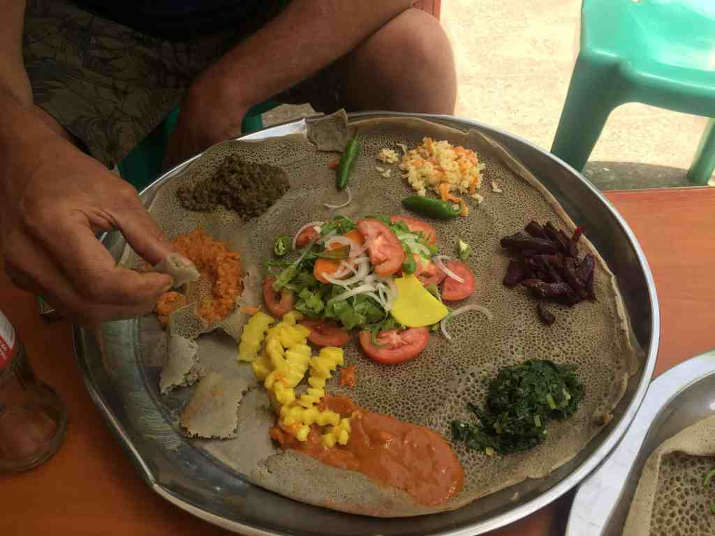 Key in knowing how to travel Ethiopia is knowing how to eat the food