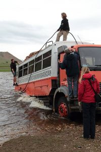 What is overlanding? It's getting stuck in rivers in Mongolia!
