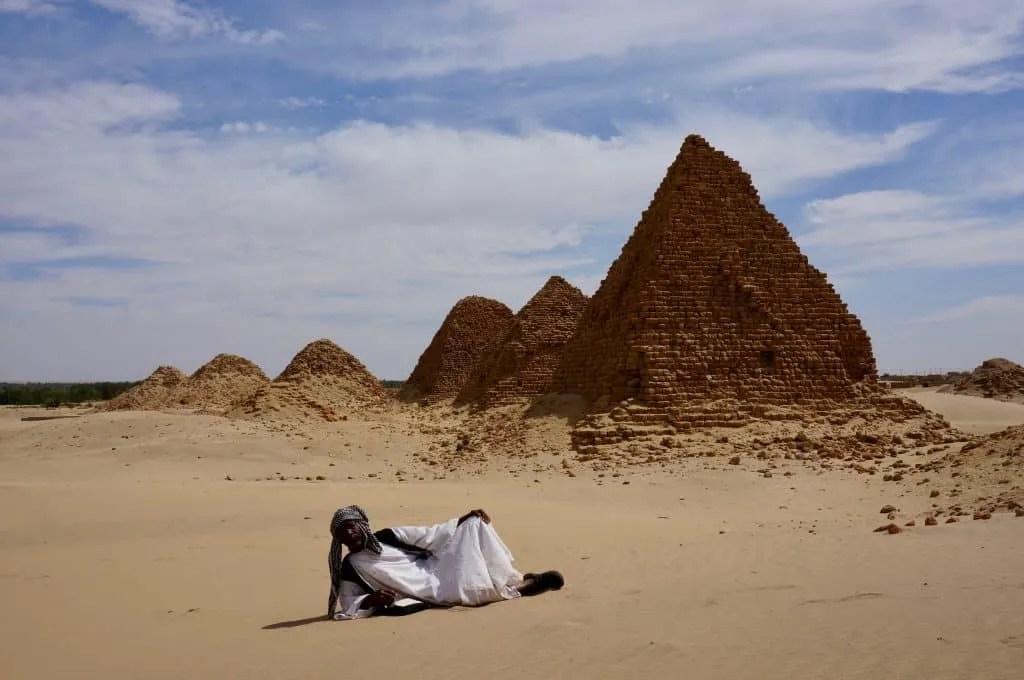 Nuri Pyramids near Karima in Sudan