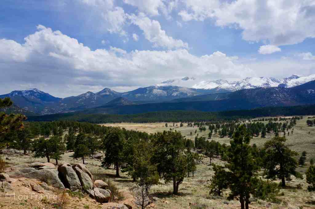 Include Rocky Mountain NP on a drive across America