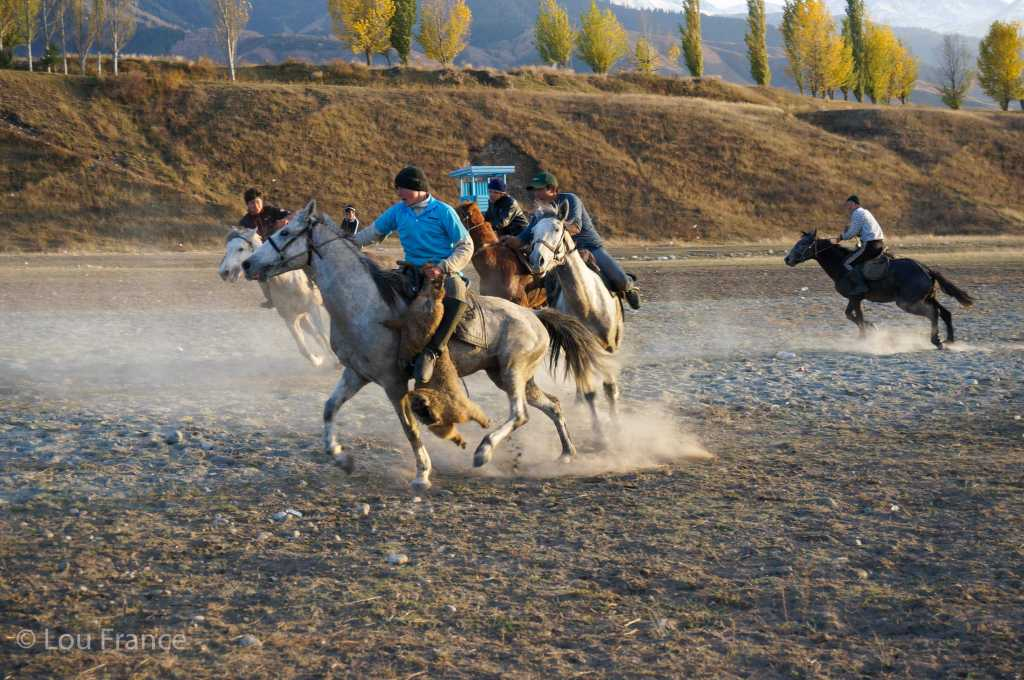Trying to see a game of goat polo should be top of the list for a visit to Kyrgyzstan