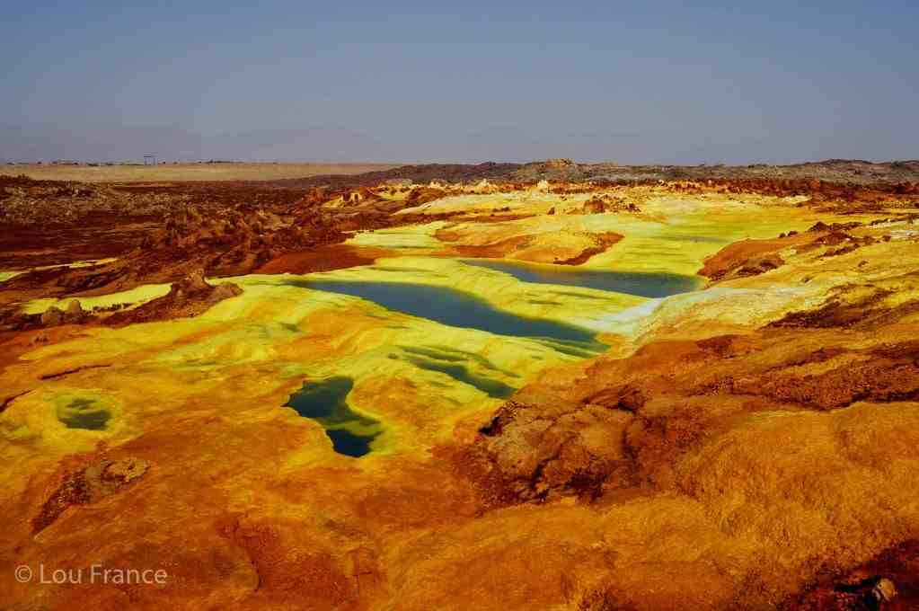 The Danakil depression in Ethiopia is a top off the beaten path travel destination