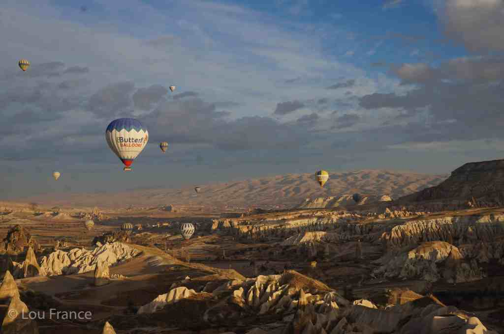 Hot air balloon rides are the best thing to do in Cappadocia
