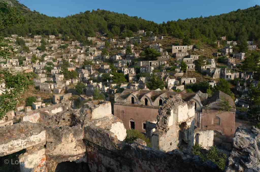A ruined Greek town is a top destination in Turkey