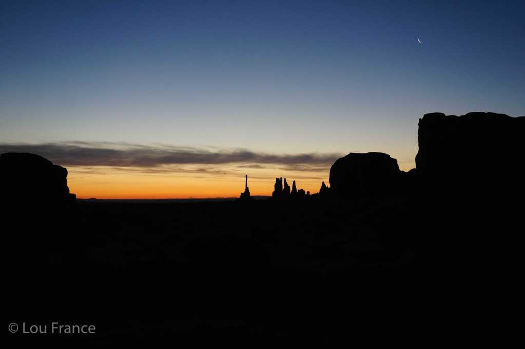 Visit Monument valley on a tour to enjoy a sunrise view like this one